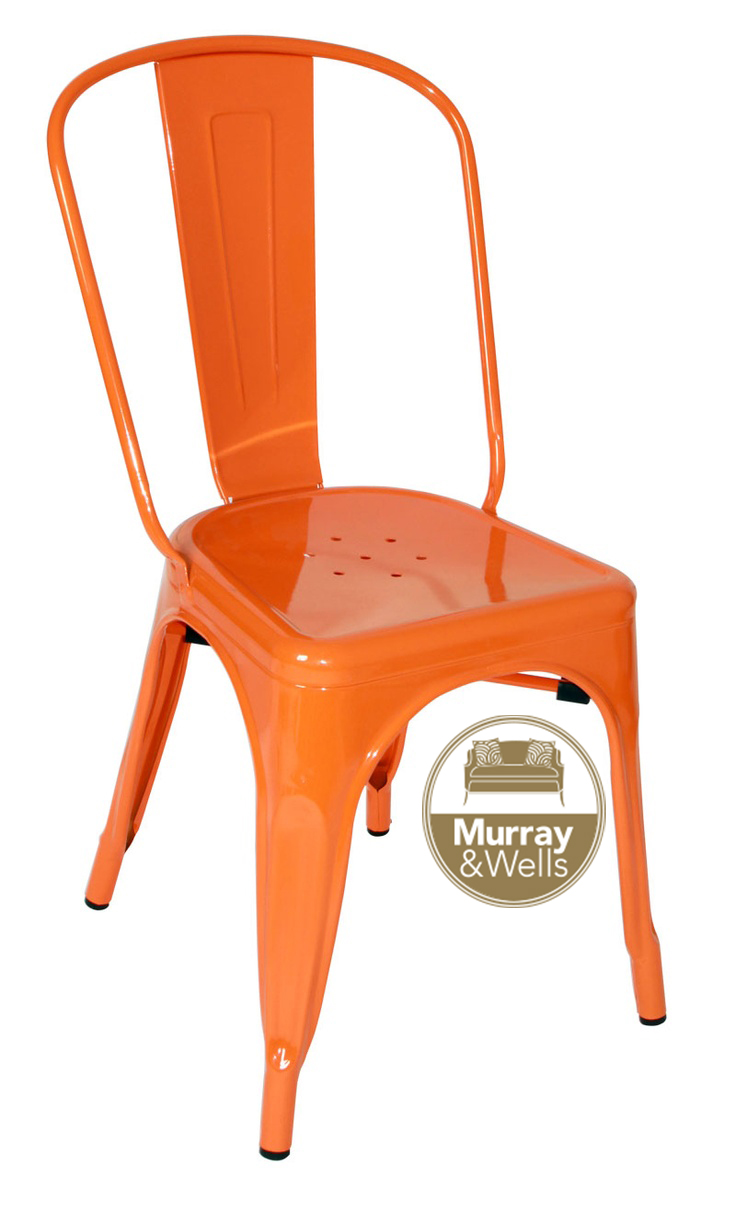 Replica tolix cafe chair murray wells for Tolix stuhl replik