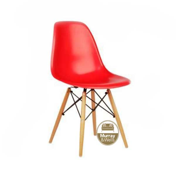 Replica Del Eames Chair : Replica Del Eames Dining chair red from murrayandwells.co.za size 600 x 600 jpeg 13kB