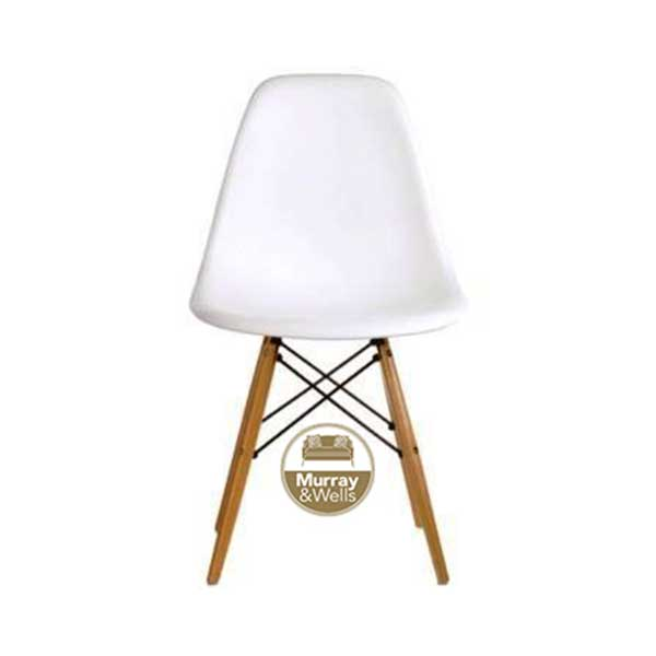 Replica Del Eames Chair : Replica Del Eames Dining chair white from murrayandwells.co.za size 600 x 600 jpeg 10kB