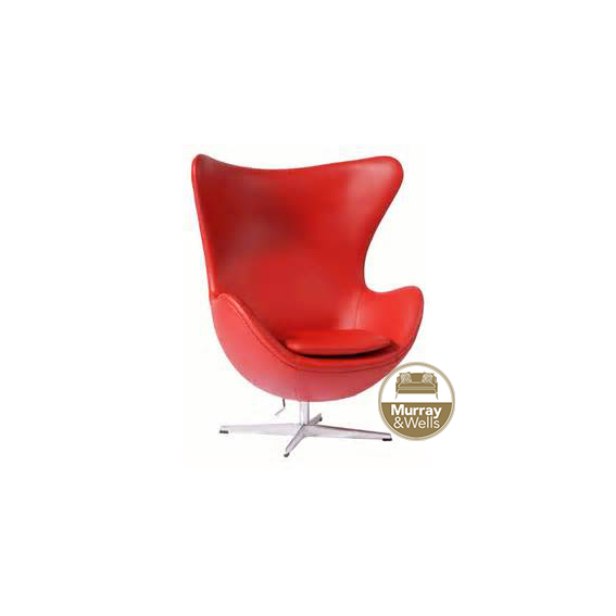 Replica Egg Chair Pu Leather Murray Amp Wells