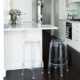 ghost kitchen stool