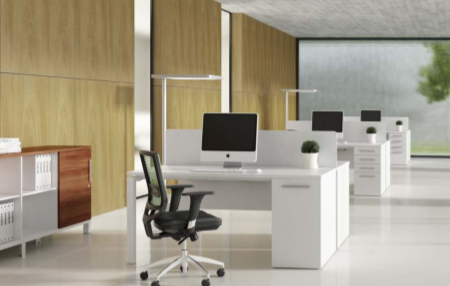 E Half De80 Working Desk 1200 X 900 750