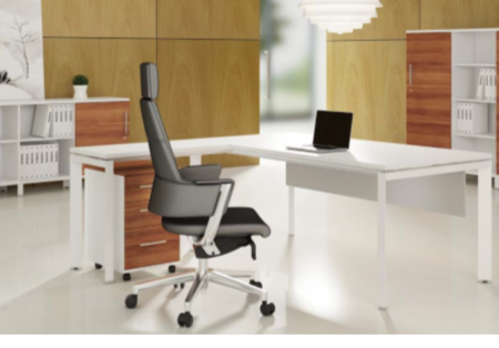 E Half De85 Working Desk 1200 X 600 750