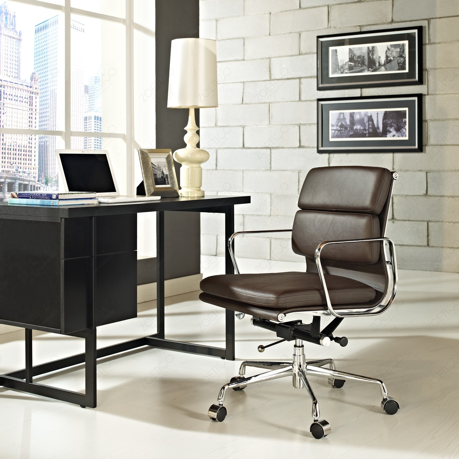replica eames office chair soft pad lb murray wells. Black Bedroom Furniture Sets. Home Design Ideas