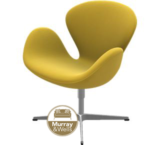 sc 1 st  Murray u0026 Wells & Replica Swan Chair Cashmere | Murray u0026 Wells