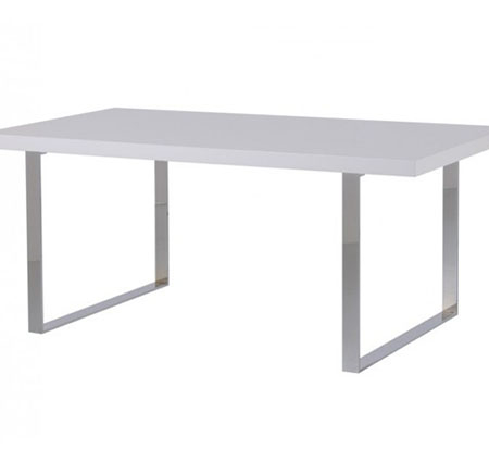 Gloss White Dining Table mw