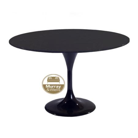 Tulip table blackMW