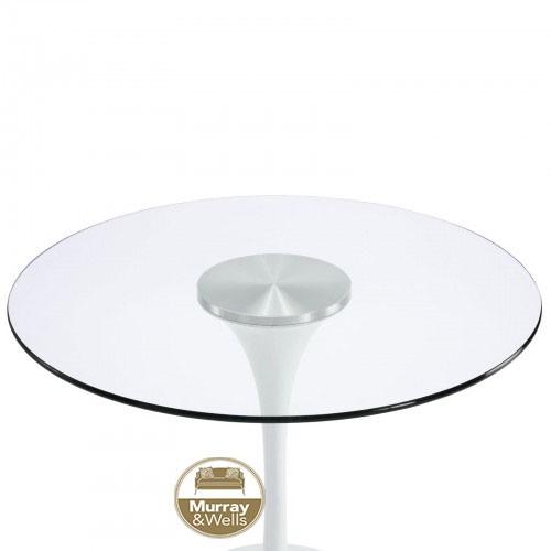 Replica Tulip Table Glass Top Murray Amp Wells