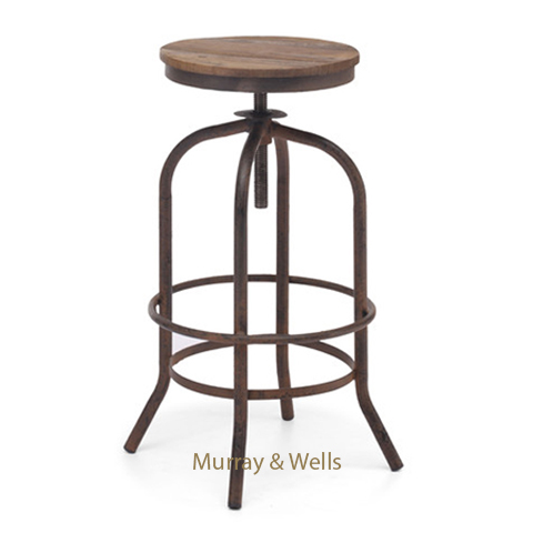 Replica Toledo Barstool Adjustable Murray Amp Wells