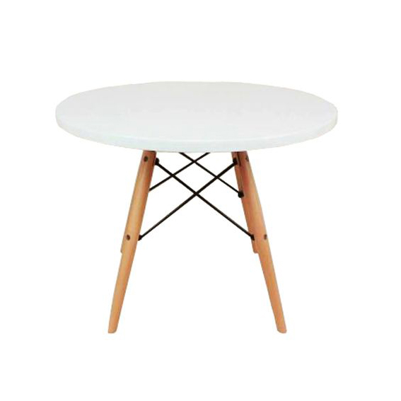 Replica eames kids table murray wells for Hay about a stool replica