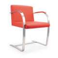 Sandton Visitors chair Red