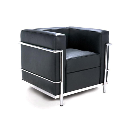 Reception leisure chairs murray wells for Le corbusier replica
