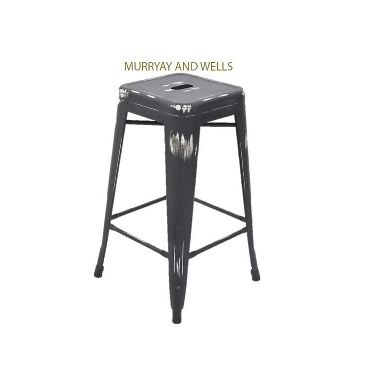 Replica tolix barstool antique murray wells - Tolix bar stool replica ...