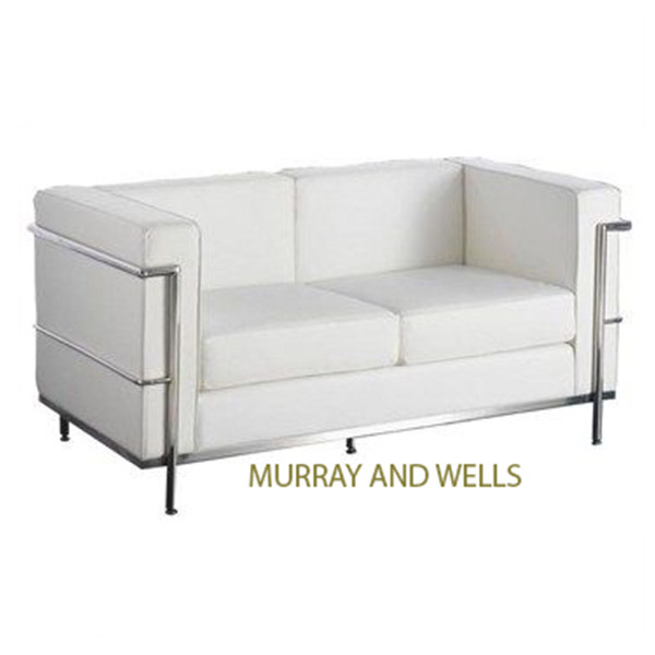 Replica le corbusier 2 seater murray wells for Le corbusier replica
