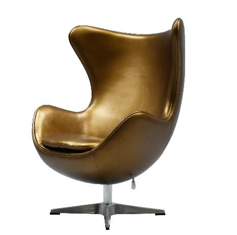 The Egg Chair.Replica Egg Chair Bronze