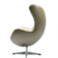 Gold Egg Chair Side