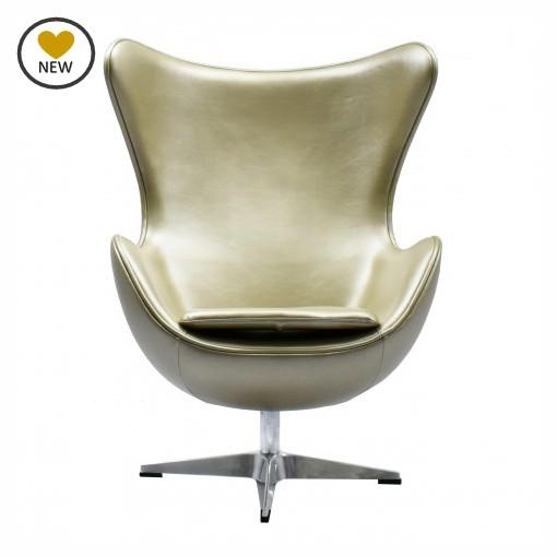Replica Egg Chair Gold Murray Amp Wells