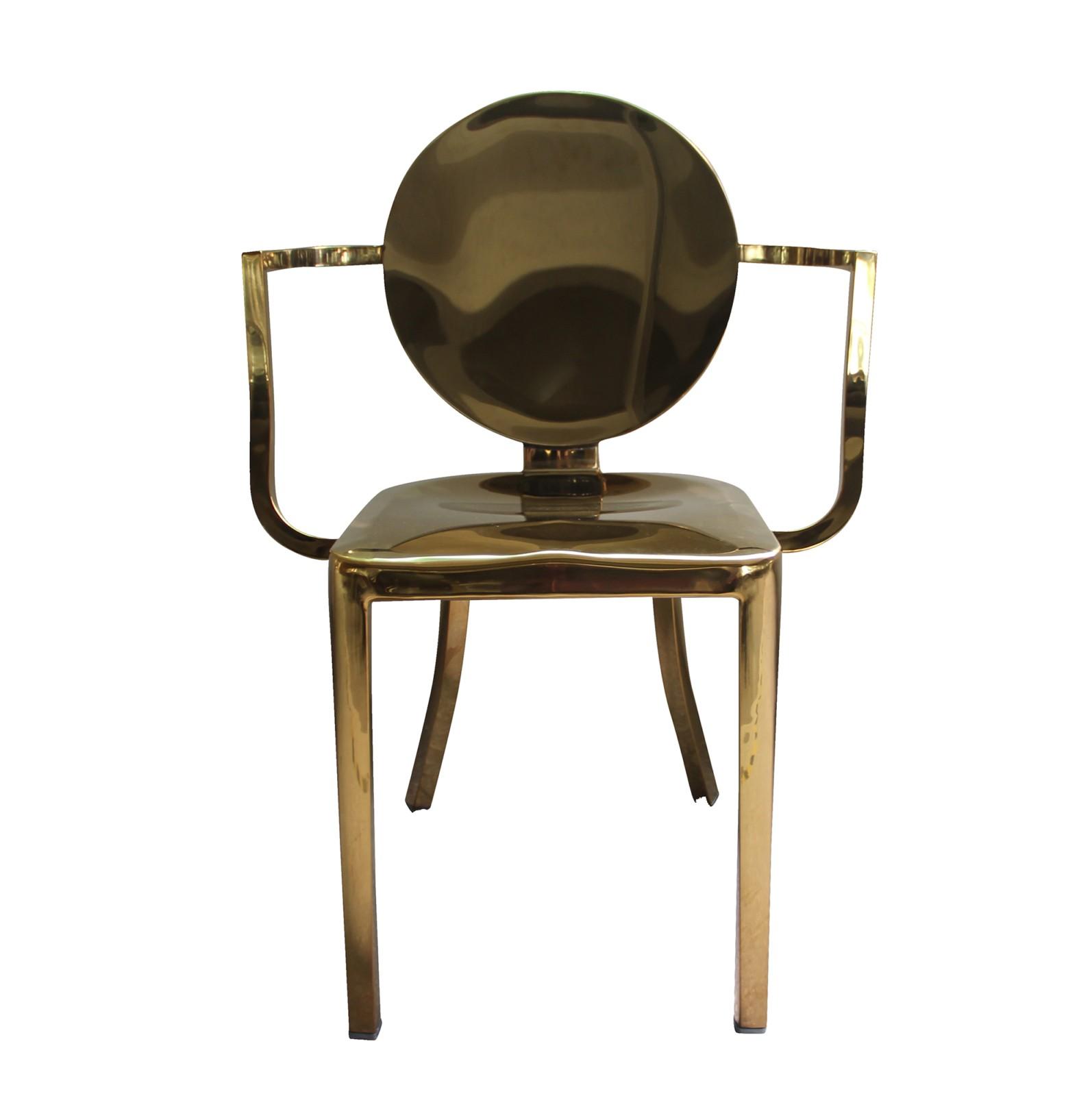 Replica Kong Chair Gold Murray Wells