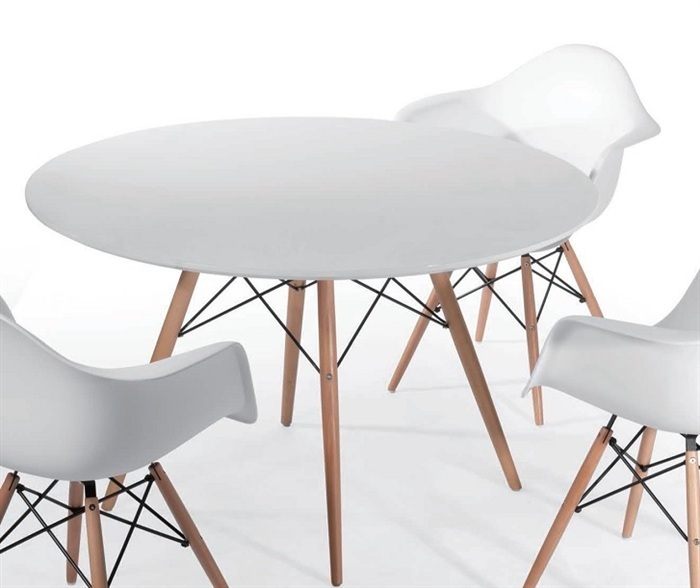 Replica Del Eames Cafe Table 120cm Murray Amp Wells