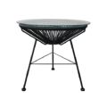 Acapulco side table - black