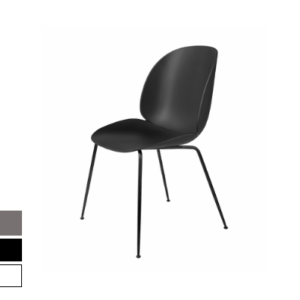 beetle chair with black frame