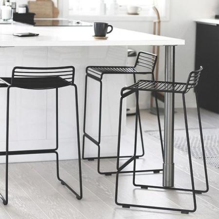 zara wire kitchens stool